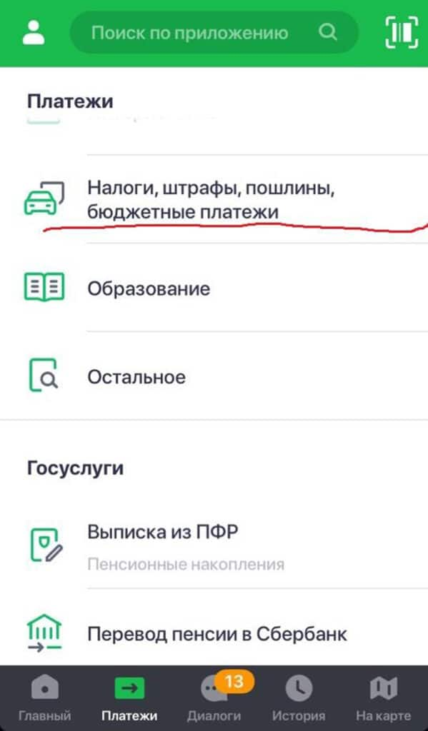 Госпошлина за паспорт РФ через мобильное приложение 1