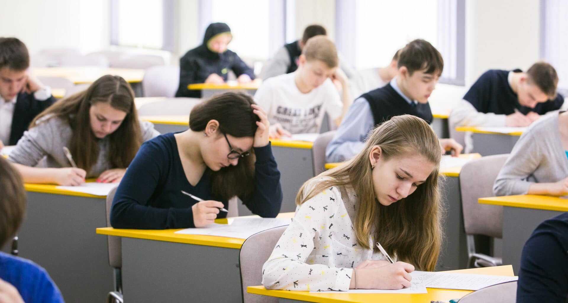 Фото учеников в школе