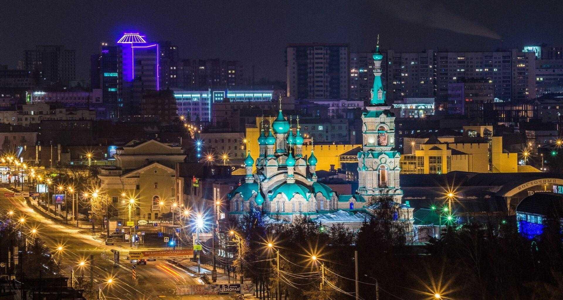 Фото вид на церковь в Челябинске