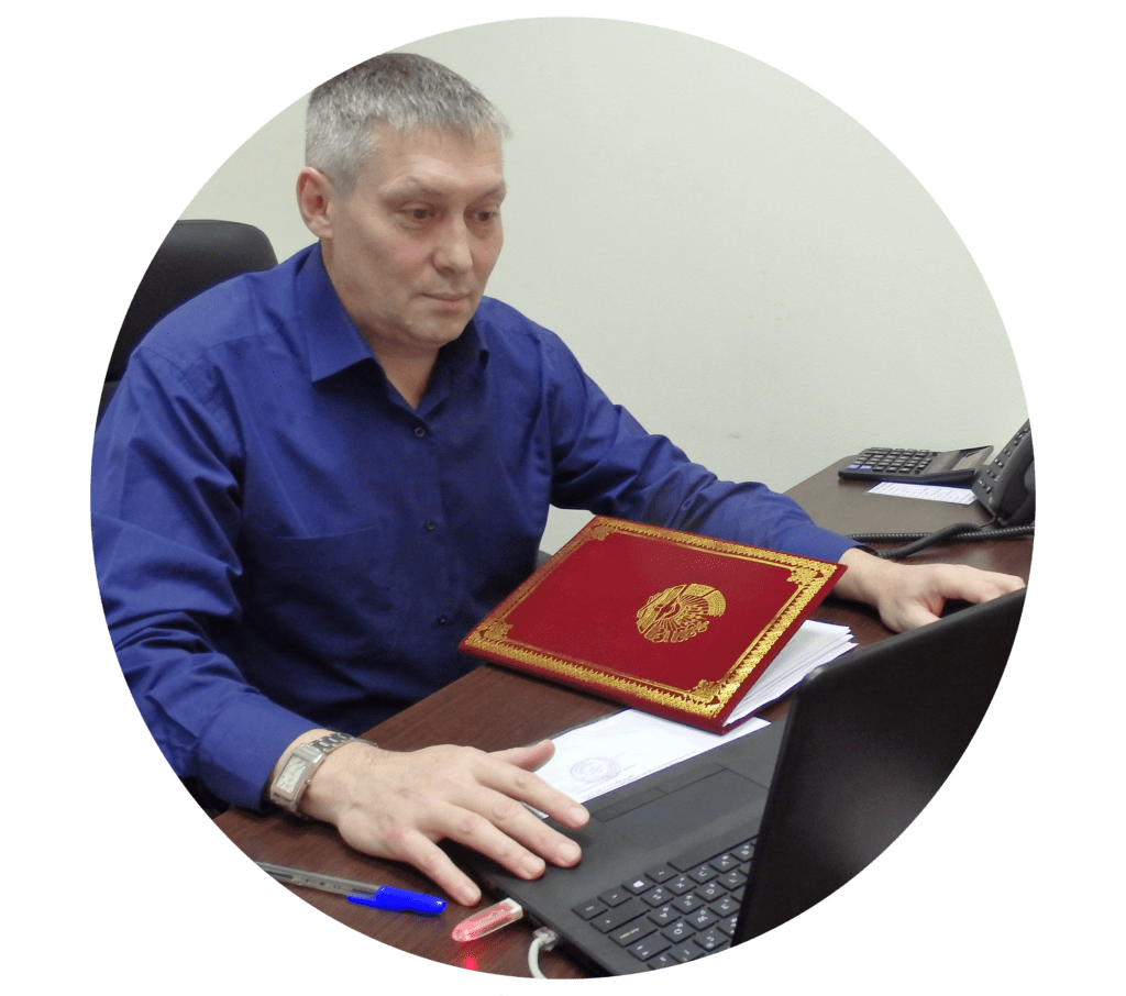Директор Центра помощи мигрантам МИР Пахомов Д.П.