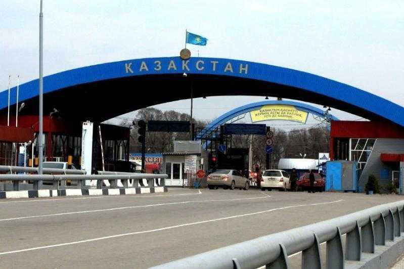 граница Россия Казахстан коронавирус