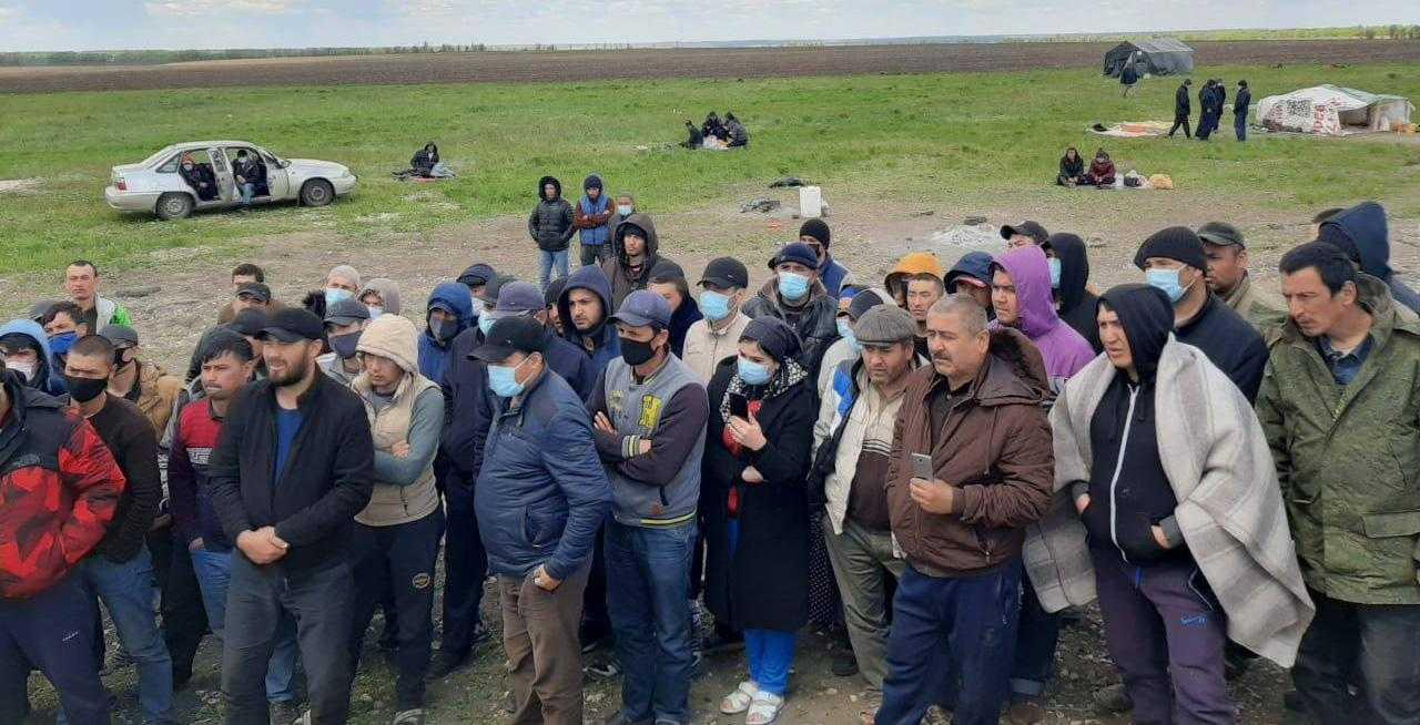 граждане Узбекистана скапливаются в Самарской области