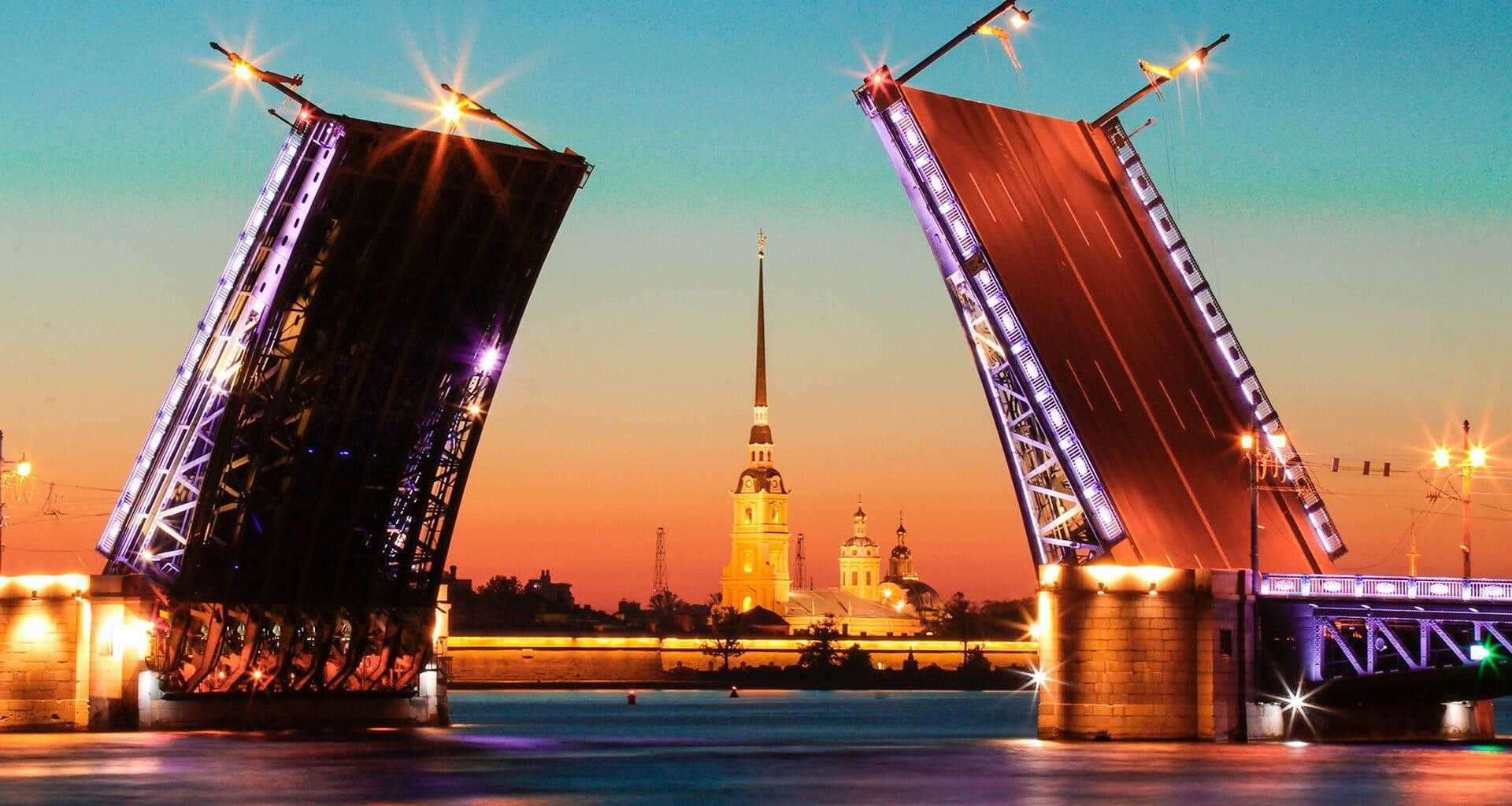 Разводной мост СПб