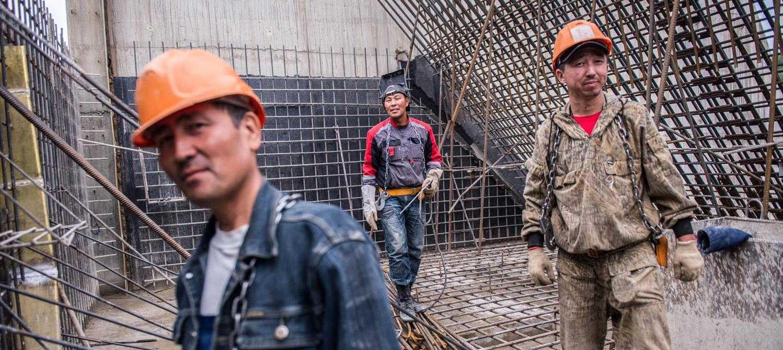 мигранты на стройках