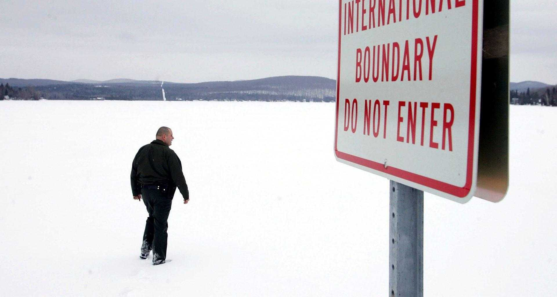мигрант замерз на границе России